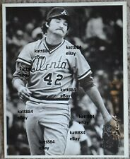 ORIGINAL PRESS PHOTO RICK MAHLER ATLANTA BRAVES 8 X 10