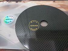 1x HIFI Carbon Fiber CD DVD Stabilizer Mat Top Tray Player Turntable HI END