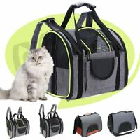 Pet Carrier Bag Dog Cat Travel Backpack Tote Outdoor Puppy Shoulder Pouch