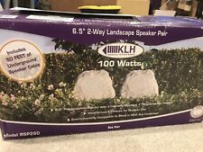 KLH 100 Watts Landscape Speakers