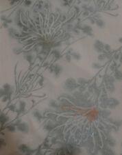 Japonés Vintage Kimono Tela De Seda Araña crisantemo