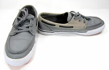 LaCoste Boat Shoes Keel Mov Lo Leather Gray Topsiders Size 8.5