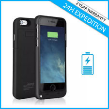 iPhone 6 6S 7 8 3200mAh Power Case Cas Etui Bank Cover Battery Charger Black A+
