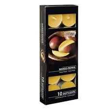 Gala Quality Mango-Papya Scented Tea Lights - pack of 10