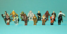 STAR WARS MicroMachines ActionFleet - 15 FIGURES - HanSolo ObiWan BobaFett lot P