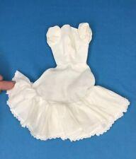 Vintage Barbie FRIDAY NIGHT DATE #979 White Cotton Dress Slip Original 3
