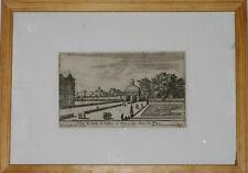 Gravure Israel Silvestre gravure 17ème originale