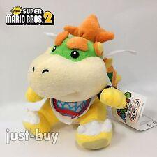 """Super Mario 3D Land Plush Bowser Jr. Soft Toy Stuffed Animal Doll Teddy NWT 6"""""""