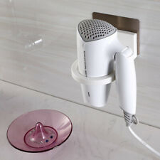 Bathroom Wall Mount Self Adhesive Hair Dryer Blower Holder Stand Organizer