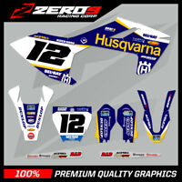 Custom MX Graphics Kit: HUSQVARNA TC 85 2014 - 2020 - SE1 BLUE
