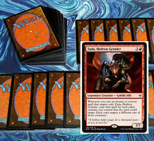 mtg MONO RED COMMANDER EDH DECK zada Magic the Gathering 100 cards rares