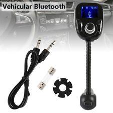 Bluetooth Auto FM Trasmettitore Radio Lettore MP3 Caricabatterie USB Vivavoce