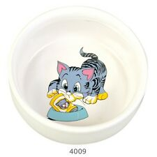 New Trixie Cat Food Bowl, Feed Water Bowl Ceramic. l - 4009