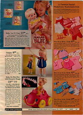 1970 ADVERTISEMENT Doll Barbie Kitchen Baby Luv'N Care Jumpsy Talking Betsy Teen