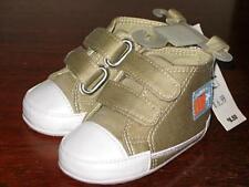Childrens Place khaki tan shoes toddler 0-6 m boy New