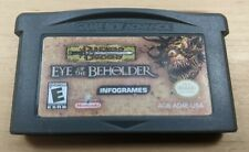 Dungeons & Dragons Eye of the Beholder (Nintendo Game Boy Advance, 2002) GBA