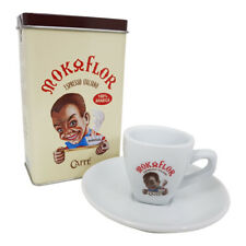 Mokaflor Espresso Blechdose Nostalgiedose, 250g gemahlen mit Espressotasse