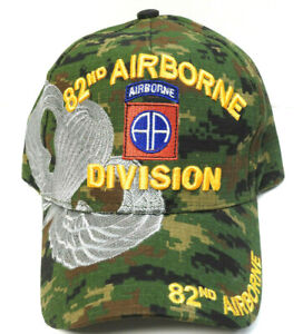82nd AIRBORNE DIVISION Cap/Hat DIGITAL Camo 100% Cotton *Free Shipping*