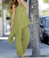 Women's Summer Cruise-Work Cocktail Casual Tunic Pant Set suit tag 3X run big 4X