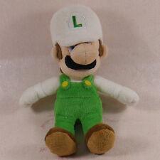 New Super Mario Bros. White Luigi Plush Stuffed Animal Nintendo Authentic 6 inch