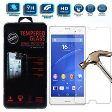 REAL TEMPERED GLASS FILM LCD SCREEN PROTECTOR FOR SONY XPERIA COMPACT Z3 & Z4