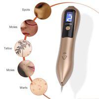 Laser Skin Tag Freckle Wart Dot Mole Dark Spot Tattoo Remove Pen Secure Detacher