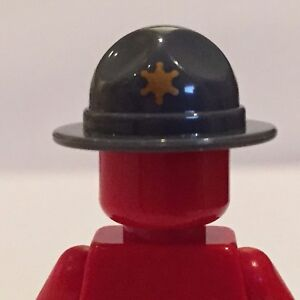 Rangers hat with gold star for Lego minifigure accessories