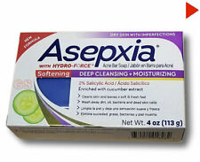 ASEPXIA SOFTENING Deep Cleansing Bar Soap Acne Treatment With Salicylic Acid 4oz