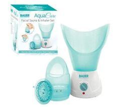 Bauer Aqua CURA DEL VISO SAUNA INALATORE VAPORE & Set Faccia congestione nasale cura della pelle