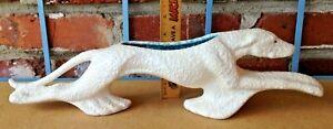 Vintage Haeger Pastiche Pottery Greyhound Dog Mid Century Modern Planter!