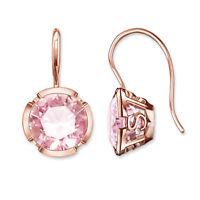Thomas Sabo Damen Ohrringe Ohrhänger 925 Silber Rosegold H1837-540-9