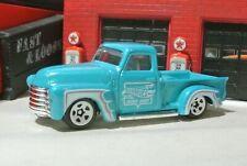 Hot Wheels '52 Chevy Pickup Truck - Blue - Loose 1:64 - Hot Trucks