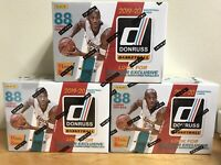 "2019-20 DONRUSS BASKETBALL ""BLASTER BOX"" RETAIL EXCLUSIVE / AUTO?? - ZION/MORANT"