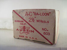 vintage    Austin Craft  Ba-Loon 2 1/2 wheels pair in box