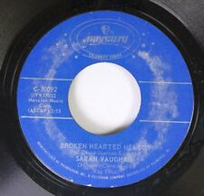 Jazz 45 Sarah Vaughan - Broken Hearted Melody / Misty On Mercury