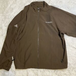 Adidas x budlight brown track jacket size large