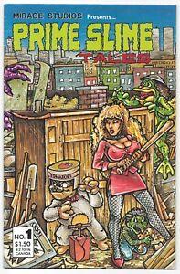 Prime Slime #1 (1986) Mirage Studios Comics Early Kevin Eastman