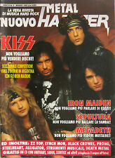 METAL HAMMER 5 1992 Kiss Iron Maiden ZZ Top Sepultura Black Crowes Steelheart