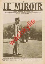 Le miroir n°153 du 29/10/1916 Constantin de Grèce Cavalla Goerlitz Argyrocastro