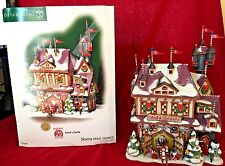 Santas Castle Dept 56 North Pole Series 56768 Retired Christmas Snow Rudolph