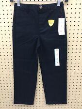 Cat & Jack Boys Uniform Pants (Ebony, Sz 6)