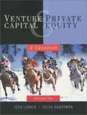 Venture Capital and Private Equity: A Casebook-ExLibrary