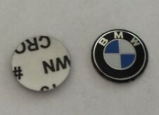 logo clé voiture sticker Autocollant BMW 3D 14mm télécommande car key