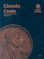 Lincoln Cents Folder #1, 1909-1940 Collector Coin Collection - NEW! - NO TAX!