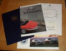 Mill Lane Jaguar E-Type Promotional Brochure 1994