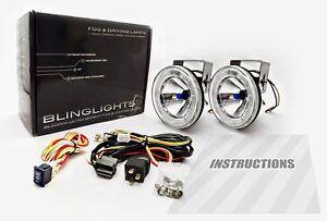 2011-2016 Mini Countryman Halo Fog Lamps Angel Eye Driving Lights Kit + Harness
