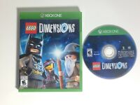LEGO Dimensions (Microsoft Xbox One, 2015) Game Only Works Great Ships Fast