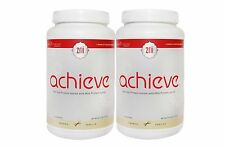 2x Zrii Achieve (French Vanilla) Mix Soy Protein Isolate Weight Management Drink