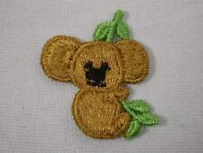 Two Koala Bears w Eucalyplus Tree Embroidered Sew On Patch 1.75 Inches (Two Pcs)