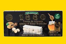1880 Turron de Alicante Almond & Honey Brittle Bar 200g (GP 3,32€ / 100g.)